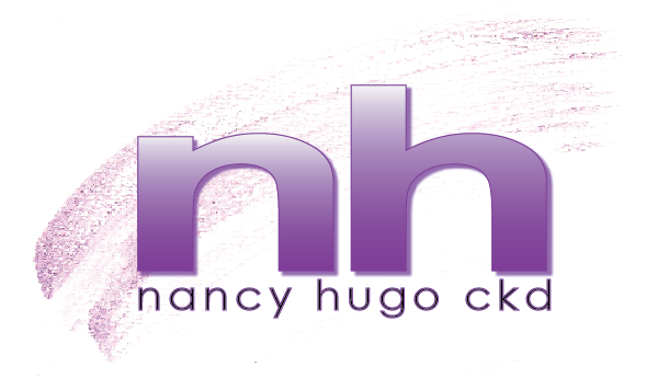 Nancy Hugo's Logo for design business