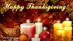We Give Thanks . . .