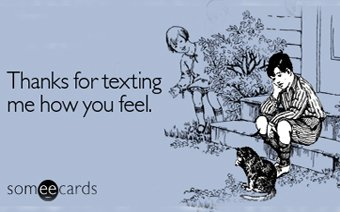 To Text or Not, that is the Question!