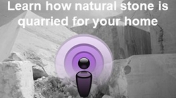 Where did your natural stone come from?