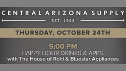 Central AZ Supply CEU/Happy Hour – Oct 24