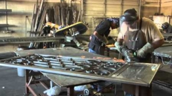 VIDEO – How are those Metal Doors made?