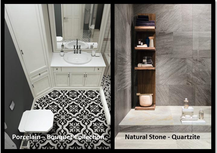 Should I use Porcelain or Natural Stone?