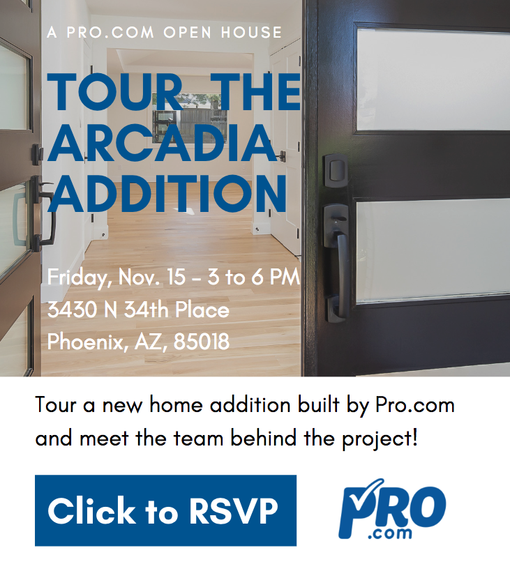 Pro.com invites you to Tour a Home for Charity – Nov 15