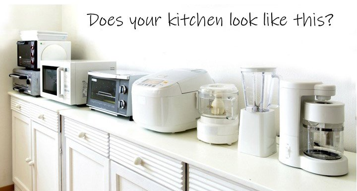 Don't Clutter your Counters with These!