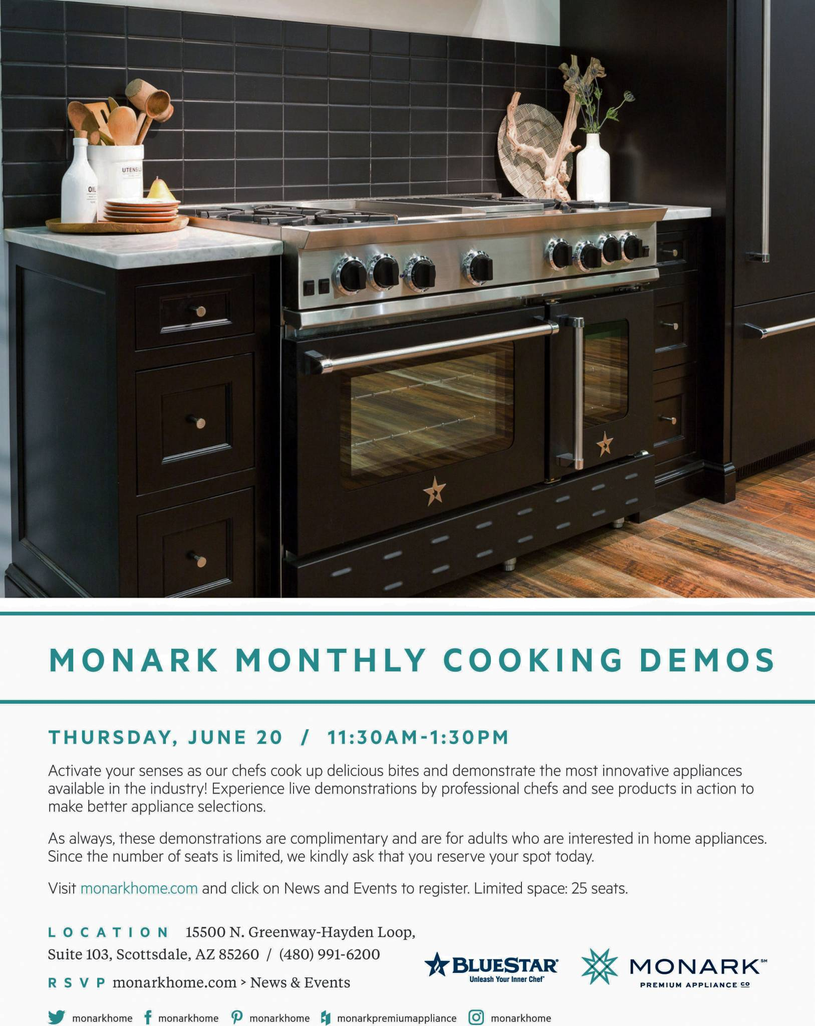 Blue Star Cooks at Monark – June 20