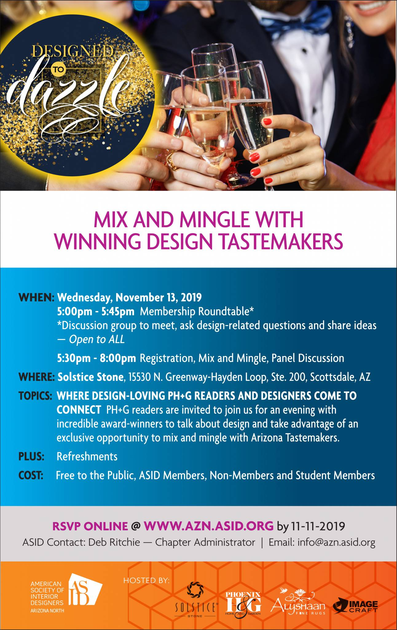 ASID Event – Nov 13