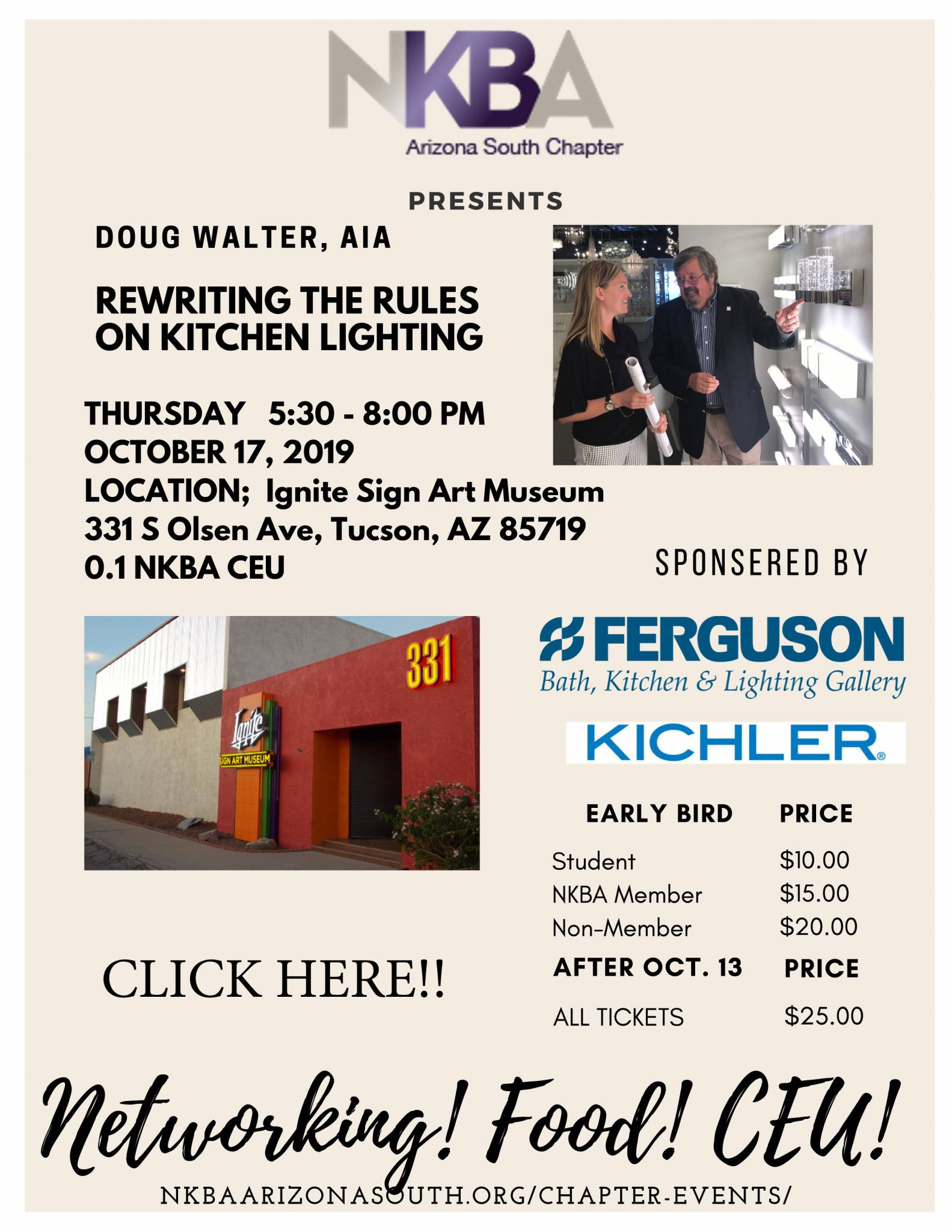 NKBA South Chapter Mtg – October 17