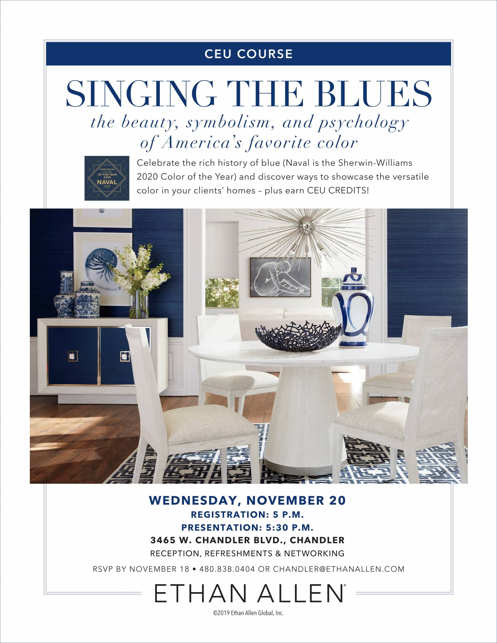 Sherwin-Williams presents CEU – Nov 20