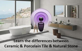 Is there a difference between Ceramic and Porcelain Tile?