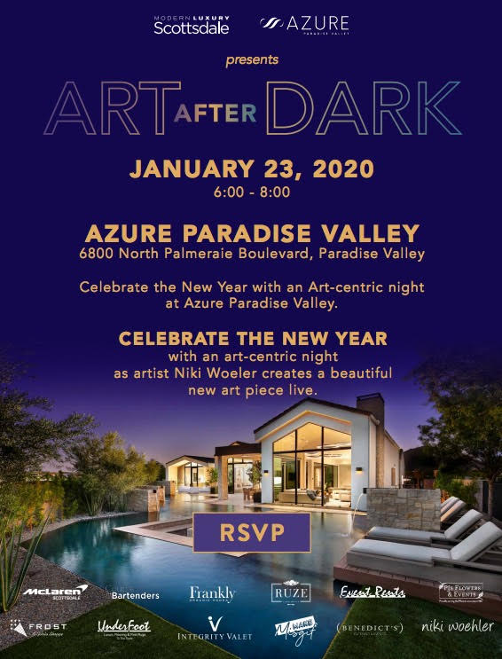 Modern Luxury hosts Art after Dark – Jan 23